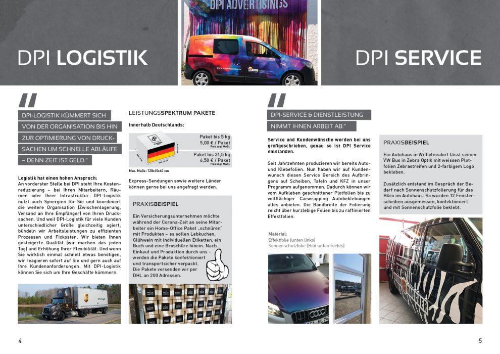 Kundenmagazin – DPI Logistik