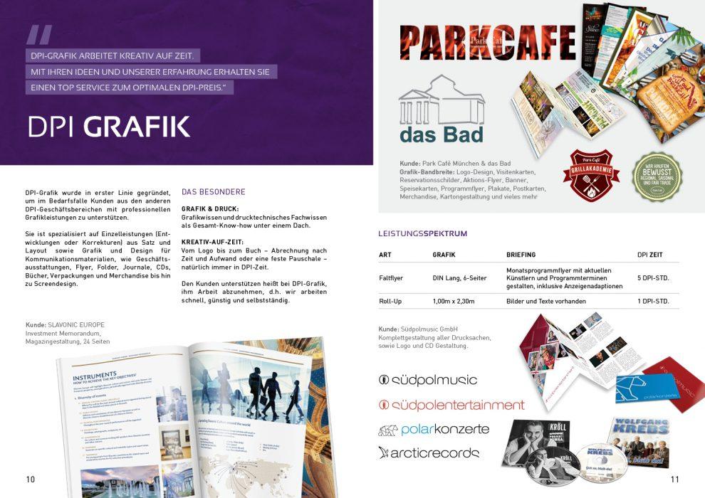 Kundenmagazin – DPI Grafik