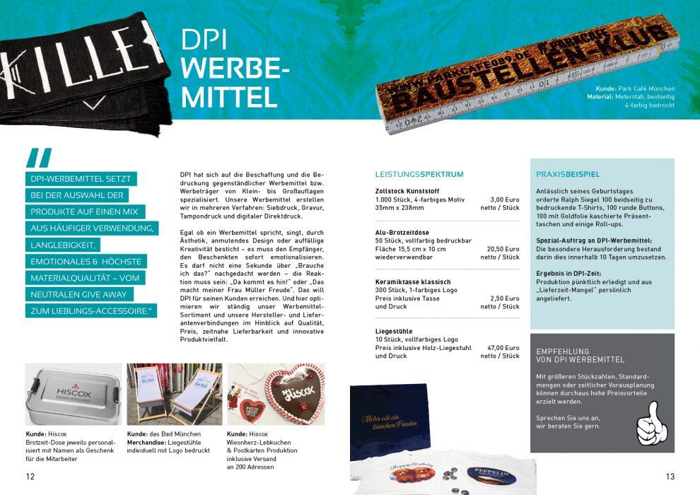 Kundenmagazin – DPI Werbemittel